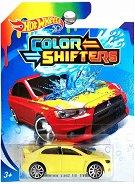 """Mitsubishi Lancer Evolution - Количка за игра от серията """"Hot Wheels: Colour Shifters"""" - количка"""