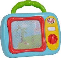 """Моят първи телевизор - Играчка за бебета от серията """"ABC"""" - детска бутилка"""