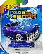 """Purple Passion - Количка за игра от серията """"Hot Wheels: Colour Shifters"""" - играчка"""