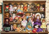 Кукли и котета - пъзел