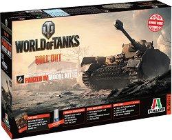 """Германски танк - Panzer IV - Сглобяем модел от серията """"World of Tanks: Roll Out"""" -"""