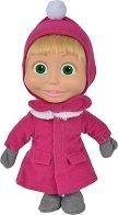 """Маша със зимна дреха - Кукла от серията """"Маша и Мечока"""" -"""