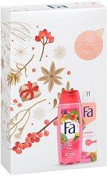 Подаръчен комплект - Fa Fiji Dream - Душ гел и дезодорант - продукт