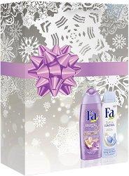 Подаръчен комплект - Fa Magic Oil - Душ гел и дезодорант -