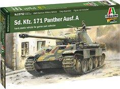 Германски танк - Sd. Kfz. 171 Panther Ausf. A - Сглобяем модел - макет