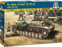 Германски танк - Pz. Kpfw. IV Ausf. F1 / F2 / G - Сглобяем модел - продукт