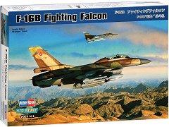 Американски изтребител - F-16B Fighting Falcon - Сглобяем авиомодел -