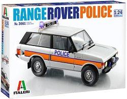 Полицейски автомобил - Range Rover - Сглобяем модел - макет