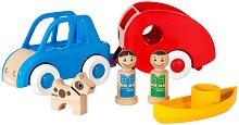 Къмпинг - Дървени играчки -