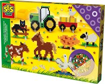 Мозайка с мъниста - Ферма - Творчески комплект -