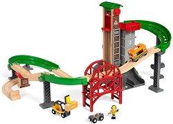 """Склад - Дървена играчка от серията """"Brio: Аксесоари"""" - творчески комплект"""
