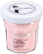 Blancreme Cream Mask with Softening Peach - Маска за лице с екстракт от праскова в стъклено бурканче - спирала