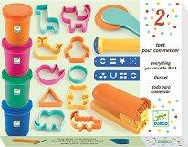 Пластилин с формички и инструменти - Комплект от 21 части