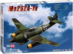 Германски изтребител - Messerschmitt Me 262A-1a - Сглобяем авиомодел - макет