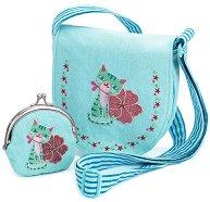 Детска чанта с портмоне -