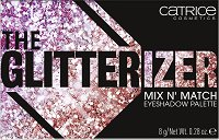 Catrice The Glitterizer Mix n' Match Eyeshadow Palette - Палитра с 8 цвята сенки за очи -