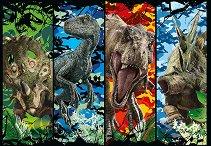 """Джурасик свят - Пъзели от серията """"Динозаври"""" -"""