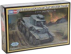 Германски танк - Panzerkampfwagen 38(t) Ausf.G  - макет