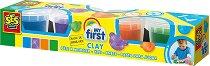 """Пластилин - Опаковка с 4 цвята от серията """"SES Creative: За най-малките"""""""