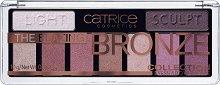 Catrice The Blazing Bronze Collection Eyeshadow Palette - Палитра с 9 цвята сенки за очи -