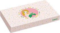 Детски бижута - Pompons and Stars - Комплект с дървени мъниста -