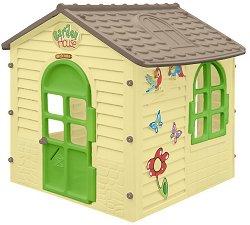 Детска сглобяема къща за игра - Garden House - Размери 122 / 120.5 / 120 cm - играчка
