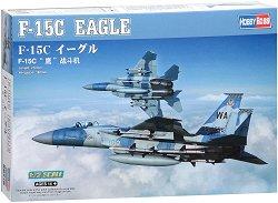 Американски изтребител - F15C Eagle - Сглобяем авиомодел - макет