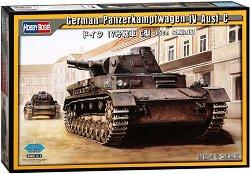 Германски танк - Panzerkampfwagen IV Ausf.C - Сглобяем модел -