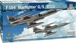 Американски изтребител-прехващач - Lockheed Martin F-104 Starfighter G/S - Сглобяем авиомодел -