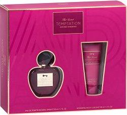 """Antonio Banderas Her Secret Temptation - Подаръчен комплект с парфюм и лосион за тяло от серията """"Secret"""" - спирала"""