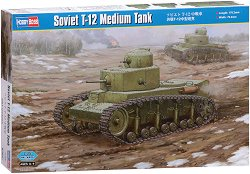 Съветски среден танк - Т-12  -