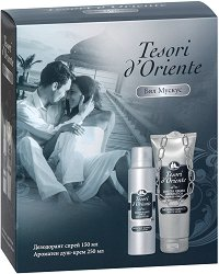 Tesori d'Oriente White Musk - Подаръчен комплект с душ гел и дезодорант - продукт