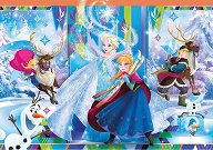 """Приятелите на Елза и Анна - Пъзел от серията """"Замръзналото кралство"""" -"""