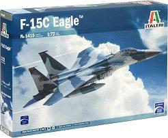 Американски изтребител - F-15C Eagle - Сглобяем авиомодел -
