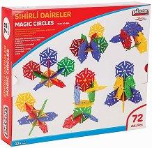 Детски конструктор с нестандартни елементи - Magic Circles - играчка
