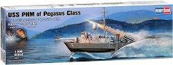 Американски военен кораб - USS PHM Class Pegasus - Сглобяем модел -