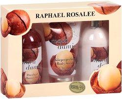 Raphael Rosalee Fruits of Paradise No.106 - Подаръчен комплект с козметика за тяло с макадамия - продукт
