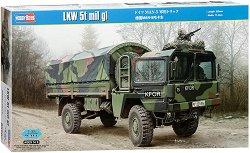 Германски военен камион - МАН-5 - Сглобяем модел -