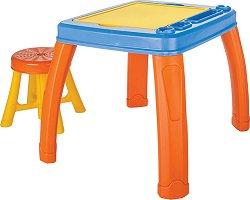 Маса със столче - Комплект мебели за деца -