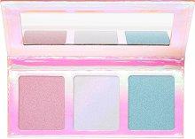 Essence Go For The Glow Highlighter Palette The Colds - Палитра с 3 цвята хайлайтъри - продукт