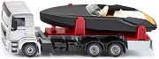 Камион с моторна лодка - Frauscher 747 Mirage -