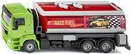 """Камион с цистерна за гориво - Man TGM - Метална играчка от серията """"Super: Transporters & Loaders"""" -"""