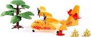 """Противопожарен самолет - Комплект от серията """"Siku: World"""" -"""