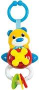 """Мече на самолет - Бебешка музикална играчка от серията """"Baby"""" -"""