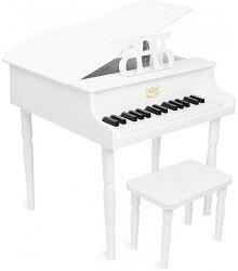 Роял със стол - Детски дървен музикален инструмент -