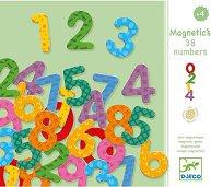 Магнитни цифри и знаци - Детски образователен комплект - играчка