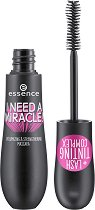 Essence I Need A Miracle Volumizing & Strengthening Mascara - Спирала за обемни мигли - балсам