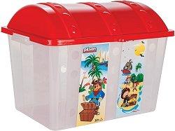 Кутия за съхранение на играчки - Пиратско съкровище -