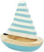 Лодка - Детска дървена играчка - играчка