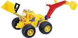 Багер с гребло - Детска играчка - играчка